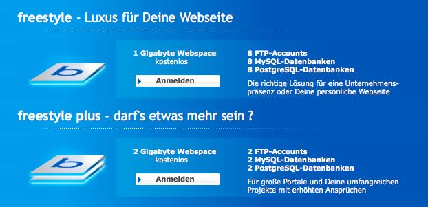 Kostenloses WordPress-Hosting mit eigener Domain - Thomas
